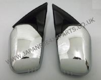 Mitsubishi L200 Pick Up 2.5DID - B40 - KB4T (03/2006-03/2015) - Door Mirror Chrome Manual Pair